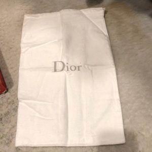 Dior shoe cover bag